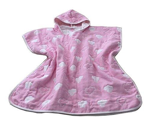 Doux serviette coton Baby Bath Hooded Cape Peignoir pour les enfants Nuage