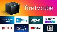Fire TV Cube | Lettore multimediale per lo streaming con controllo vocale tramite Alexa e 4K Ultra HD