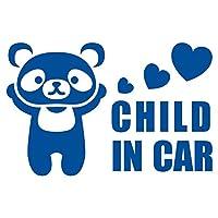 imoninn CHILD in car ステッカー 【パッケージ版】 No.12 パンダさん (青色)