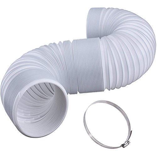 Portable ac exhaust hose: Replacement AC hose for air conditioners, 5.12 inch W x 78'' L (EXTRA LONG) air conditioner tube, ac duct, fits most indoor & room ac units: Sharp, Whynter, honeywell, vent