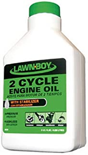 Lawn-Boy 89930 2-Cycle 32:1 Ashless Engine Oil, 8-Ounce Bottle