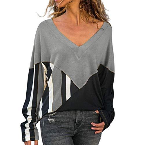 KUKICAT Sweatshirt Damen Large Size Langarm-Oberteil mit losen Nähten