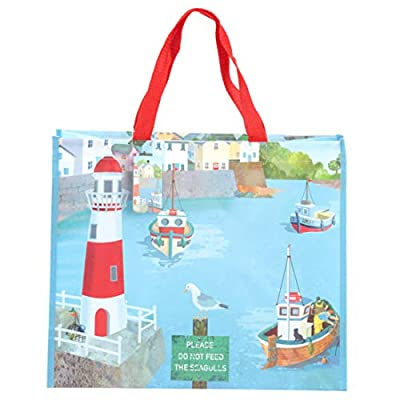 Puckator Porto-Jan Pashley Shopper Bag, Multicoloured, Fabric, Mixed, Height 33cm Width 40cm Depth 17cm by Puckator