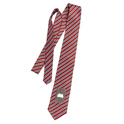 Monsterzeug Party Krawatte mit Bieröffner, Lustiges Gadget für Männer, Schlips mit integriertem Flaschenöffner, Vatertagsgeschenk