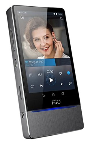 FiiO X7 32GB Hi-Res Lossless Music Player, Titanium