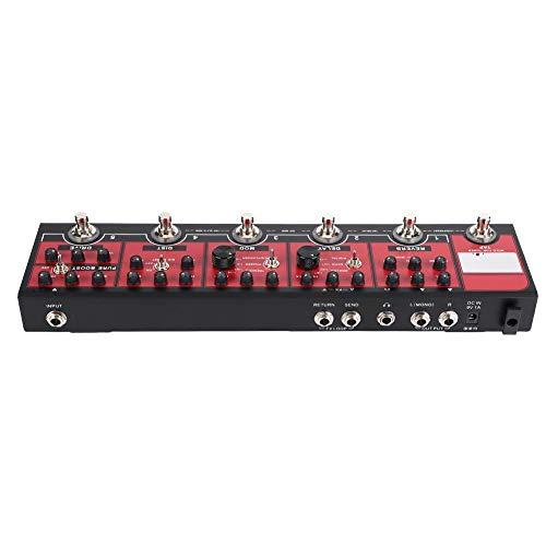 Pedal de Guitarra, Pedal de Efecto de compresor analógico True Bypass Metal Shell para Guitarras