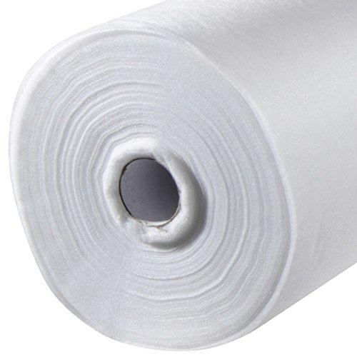 VERDELOOK Tessuto TNT Plus 30 gr/mq Rotoli per Colture, 1.6x250 m, Bianco
