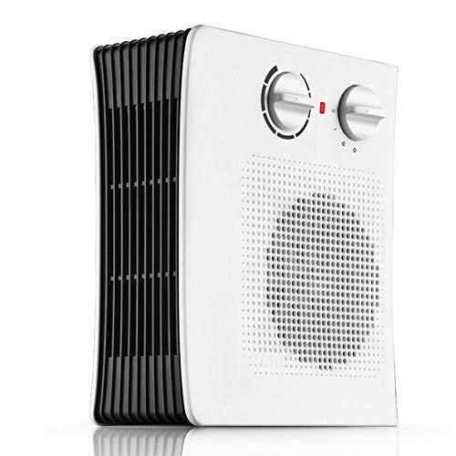 Calentador convector Ventilador turbo Calentador de convección de 2000 W con termostato Ajuste de 3 posiciones Calefacción rápida Dormitorio Baño Dormitorio Certificación de seguridad en el hogar