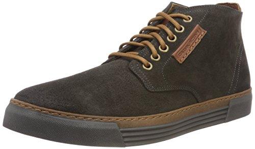 camel active Herren Racket 20 Hohe Sneaker, Grau (Dk.Grey (Grey) 12), 46 EU (11 UK)