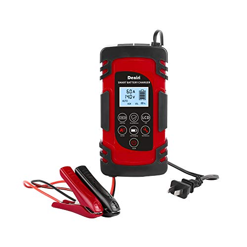 DENIRI, Updated Fully Automatic 8 amp Smart Battery Charger/Maintainer, Battery Repairer and Desulfator, 12v and 24v. Autos, Motorcycles, Trucks, SUVs, ATVs, Lawn Equipment