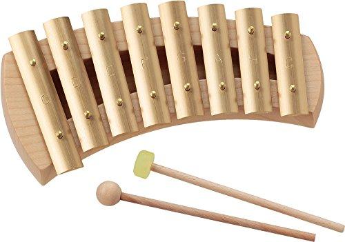 アウリス AURIS 楽器 鉄琴 真鍮 グロッケン ダイヤトニック 8音