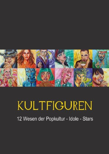 KULTFIGUREN (Posterbuch DIN A4 hoch)