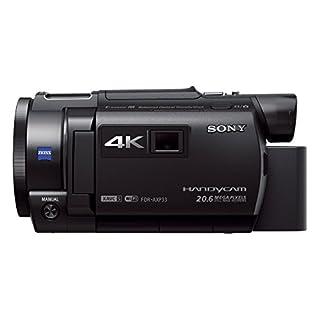 Sony FDR-AXP33 kompakter 4K Camcorder (4K Aufnahmen bis zu 100Mbps, XAVC S Format, 10-fach opt. Zoom, 20x Klarbild-Zoom, Infrarot Aufnahmen dank Nightshot-Funktion) schwarz (B00RK7ODFE) | Amazon price tracker / tracking, Amazon price history charts, Amazon price watches, Amazon price drop alerts