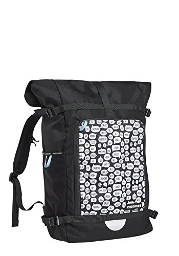 Chiemsee Bags Collection Schulrucksack, 50 cm, 1090 White/Black