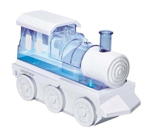 LANAFORM Trainy - Humidificador (22 cm, 33 cm, 12 cm, Transparente, Color blanco)