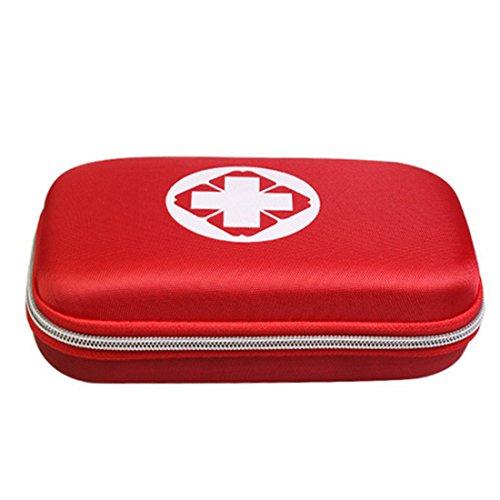Spieland Erste Hilfe Set Reiseapotheke Tasche Leer First Aid Kit Gewebe Medizintasche, 22 * 13 * 5cm