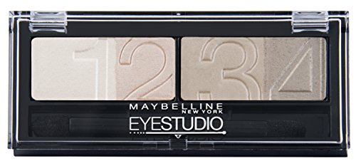 Maybelline New York Lidschatten Eyestudio Quattro Palette Nude Beige 13 / Eyeshadow Set in...