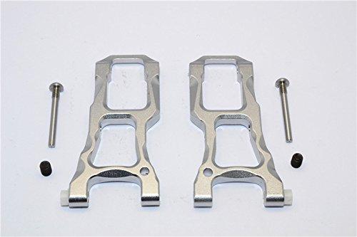 HPI Sport 3 Flux Tuning Teile Aluminium Front Suspension Arm - 1Pr Set Gray Silver