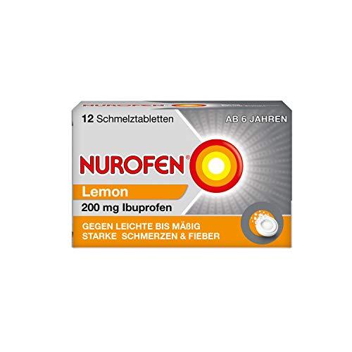 Nurofen 200 mg Schmelztabletten Lemon, 12 St. Tabletten
