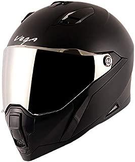 Vega Storm Dull Black Helmet-L