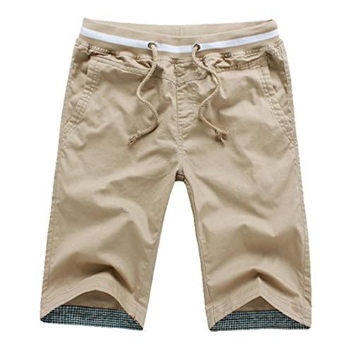 WQEDZSADv Cotton Men Shorts Homme Beach Slim fit Bermuda Masculina Joggers M-5XL
