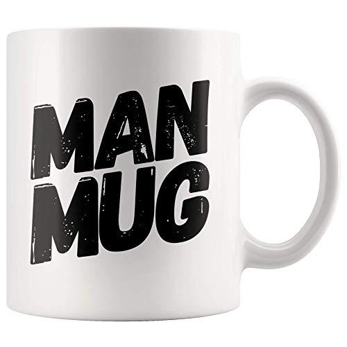 Große Schnurrbart Geschenke Mann Kaffeetasse Geschenke für Büro Mitarbeiter Bester Mann Groomsmen Bart Mann Kaffeetasse Vatertagsgeschenke