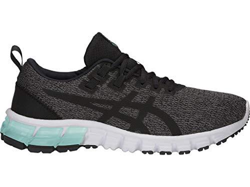 ASICS Women's Gel-Quantum 90 Running Shoes, 9M, Dark Grey/Black