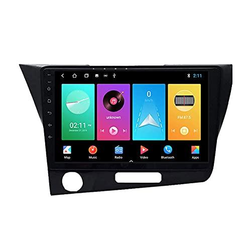 Android 10.0 Car Stereo Radio Doble DIN para H-Onda CR-Z 1 CRZ 2010-2016 Navegación GPS Reproductor Multimedia de 9 '' Receptor de Video Bluetooth con 4G / 5G WiFi SWC DSP USB Carplay