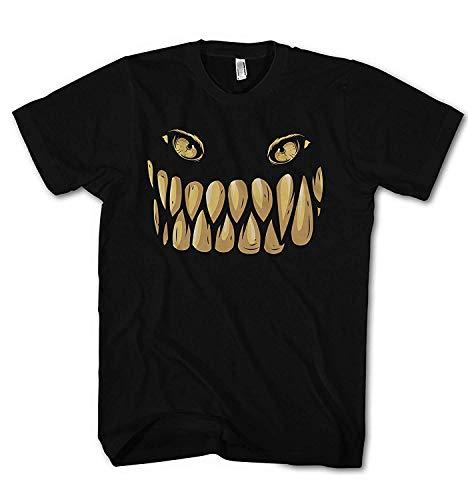 Herren T-Shirt Scray Monster Screem Maske of Horror