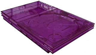 PS2 Slim Flip Top GhostCase Kit - Clear Purple