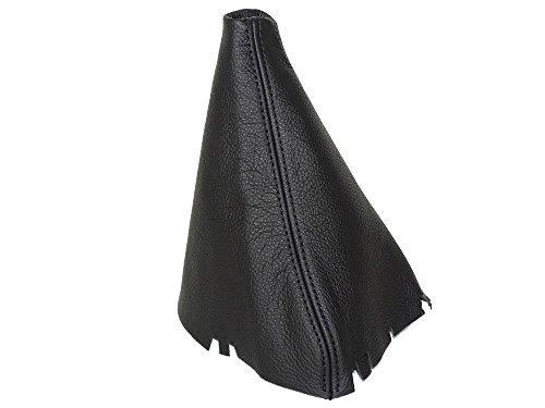 Für Seat Altea XL 2005–14Gear Stick Gaiter schwarz echtes Leder