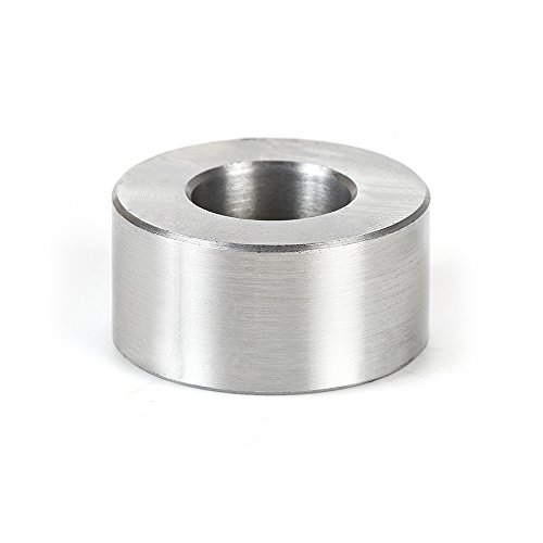 Amana Tool - 67222 High Precision Industrial Steel Spacer (Sleeve Bushings) 1 Dia x 1/2 HE