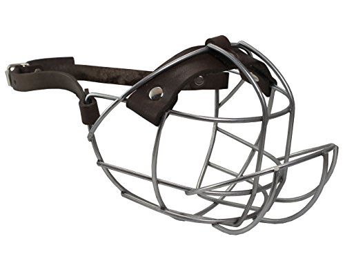 Metal Wire Basket Dog Muzzle Boxer, Bulldog Medium. Circumference 13.5',...