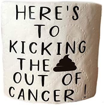 Cancer Survivor Gift Kicked The Crap Out of Cancer Beat Cancer Funny Gift For Cancer survivor product image