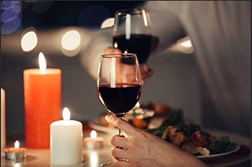 HJHJHJ Rompecabezas para Adultos, Rompecabezas de Madera de 3000 Piezas de Vino Tinto, con Piezas de Corte único de 122x81cm