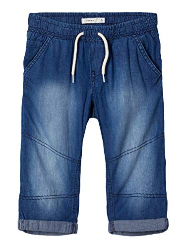 NAME IT Boy Caprihose Weiche Regular Fit 164Dark Blue Denim
