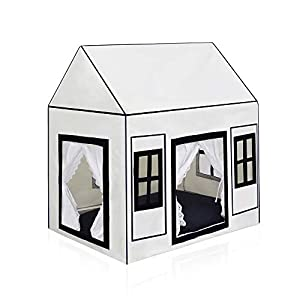 "PETITE MAISON Pet House - House for Dog, Cat, Kitty or Puppy, Small to Medium Sized, Handmade Indoor/Outdoor Kennel, 100% Aluminium Super-Light, Portable, 24"" x 16"" x 25"", Petite House - Pink Cream"