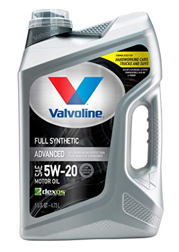Valvoline  Advanced Full Synthetic SAE 5W-20 Motor Oil 5 QT