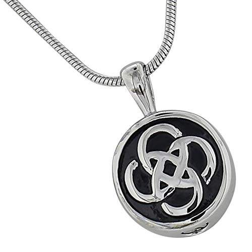 Silverlight Urns Celtic Knot Cremation Jewelry Pendant