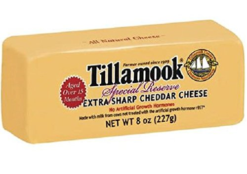 TILLAMOOK Jacksonville Topics on TV Mall Special Reserve Cheddar Cheese Ou 7 Sharp Extra Deli