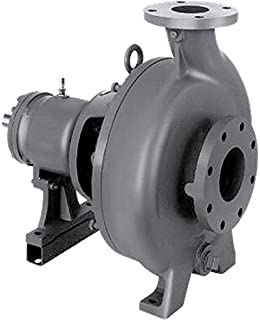 MP Pumps 38521 HTO 80 End Suction Centrifugal Hot Oil Pump Ductile Iron Explosion Proof 3 hp 3 Phase Motor Closed Couple 56C 5.9 1-1//2 x 1-1//4 5.9 1-1//2 x 1-1//4