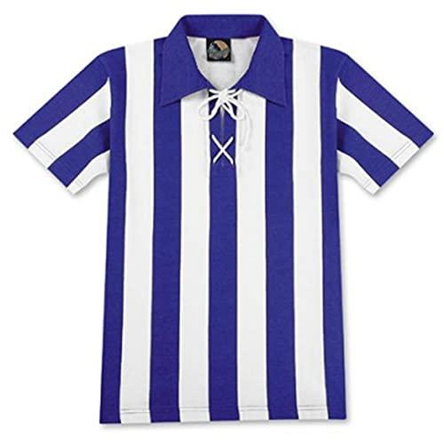 World of Football Traditionstrikot blau-weiß blau/Weiss - XL