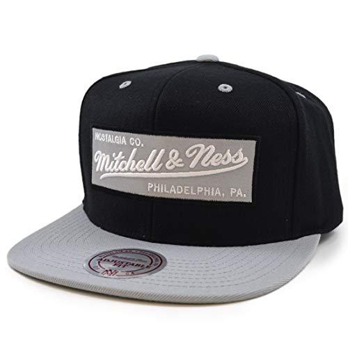 Mitchell & Ness Branded Box Logo Snapback Branded Black / Grey