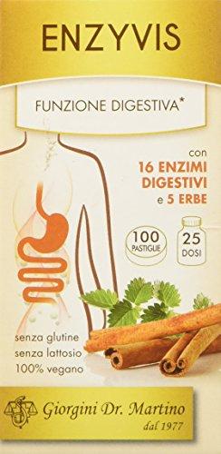 Dr. Giorgini Integratore Alimentare, Enzyvis Pastiglie - 50 g