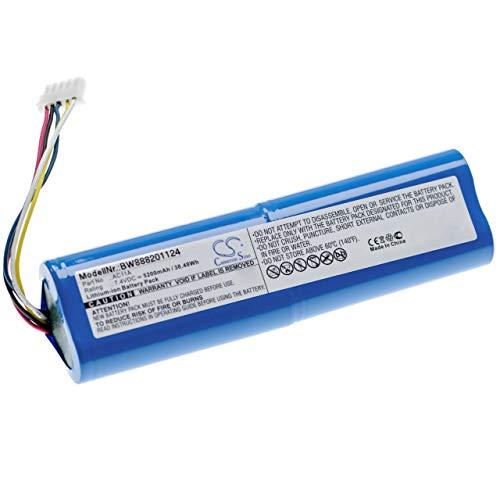 vhbw batteria compatibile con 3DR Solo Controller, Solo Drone Remote Controller telecomando remote control (5200mAh, 7.4V, Li-Ion)