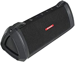 Aiwa Exos-3 Bluetooth Speaker (Black) - Water Resistant, Rugged - Serious Acoustic Performance
