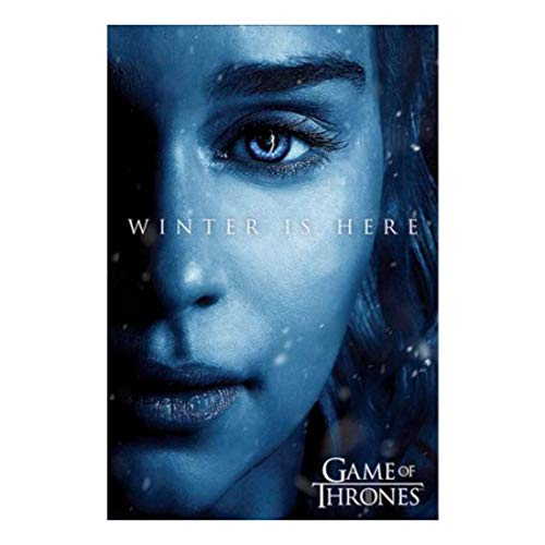 Pyramid PP34201 - Poster con diseño Game Of Thrones Winter Is Here Daenerys, 61 x 91.5 cm