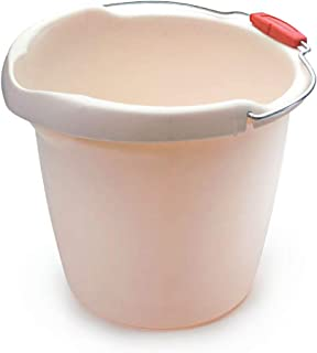 Rubbermaid Roughneck Heavy-Duty Utility Bucket, 15-Quart, Bisque