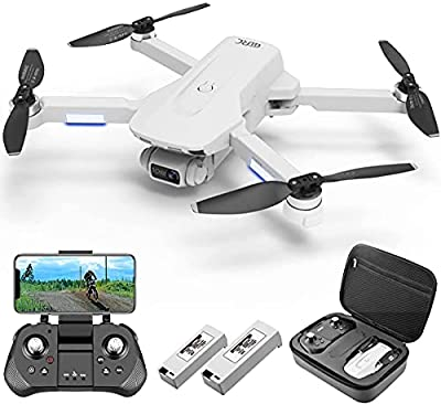 4DRC F8 GPS Drone with 4K UHD Camera 5G FPV Live Video for Adults and Beginners, Foldable RC Quadcopter with Brushless Motor, Return Home, Follow Me, Long Flight Time, Includes Carrying Case
