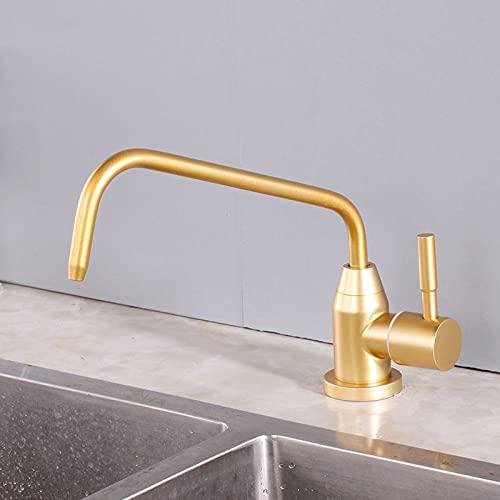 Grifo de agua potable directo Grifo de cocina de ósmosis Grifo purificado de acero inoxidable con una sola manija, D1